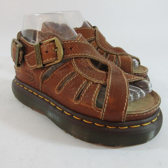 980f08dab5df7 Dr. Martens Shoes - Dr Martens Air Wair Fisherman Sandals Brown